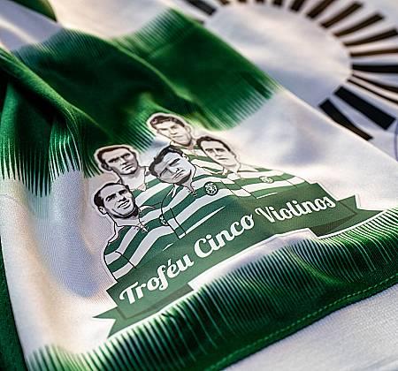 Camisola oficial Sporting Clube de Portugal autografada pelo plantel - Época 2020/2021