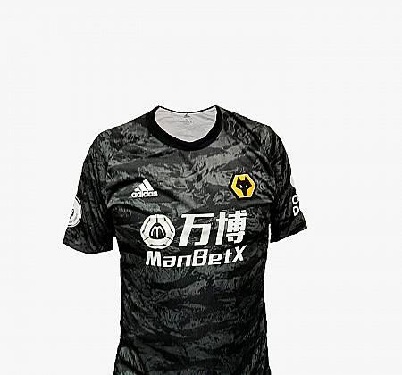 Camisola de Rui Patrício do Wolverhampton Wanderers F.C. da Premier League
