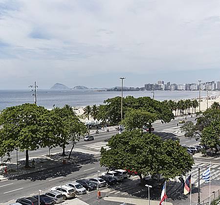Hotel Copacabana Palace - Final de semana Casal de frente para Mar