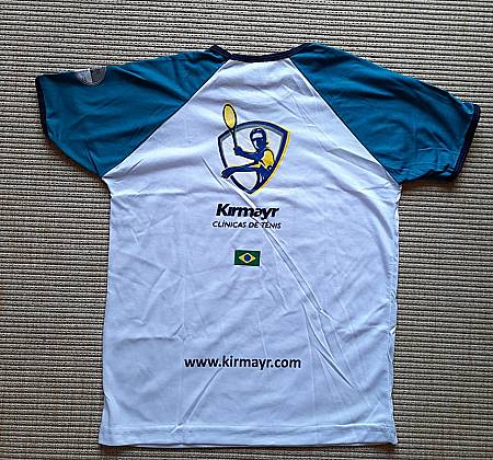 Carlos Kirmayr - Shirt autographed by the tennis player