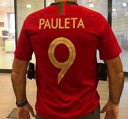 National team jersey - Pauleta