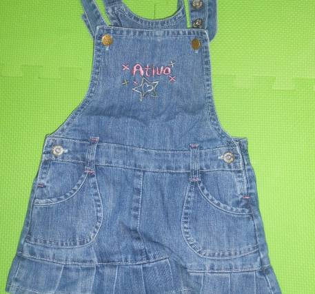Vestido ganga menina 6 anos