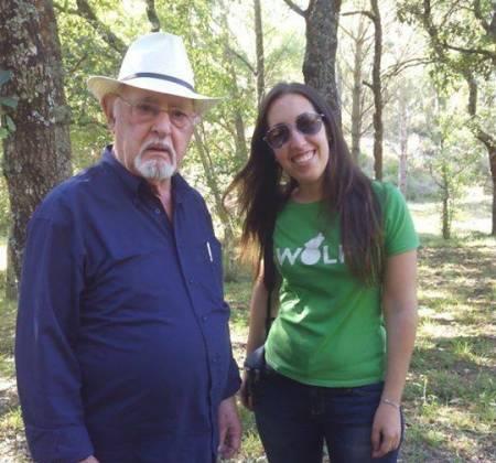 Convívio com Ruy de Carvalho + livro autografado apoia o Grupo Lobo