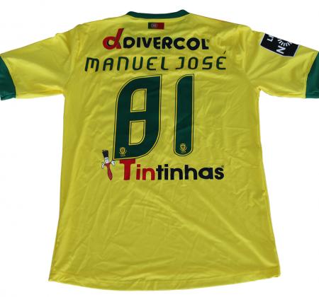 Camisola autografada pelo plantel do Paços de Ferreira (2014/2015)