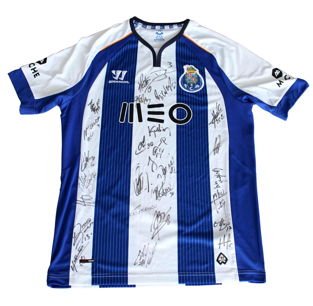 Camisola autografada pelo plantel do FC Porto (2014/2015)