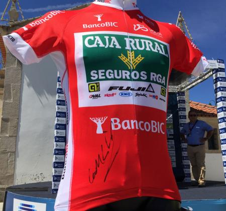 Camisola autografada dos pontos Banco BIC – José Gonçalves – Portugal - Volta a Portugal