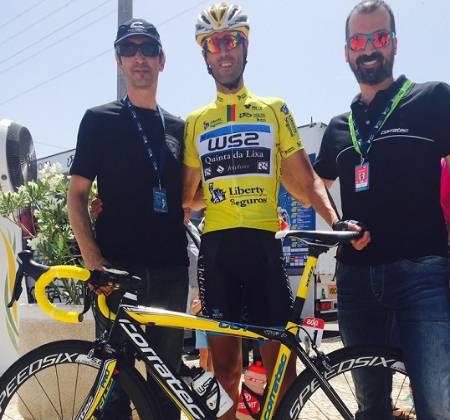 Bicicleta do Gustavo Veloso - Bicampeão da Volta a Portugal
