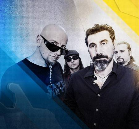 System of a Down - Guitarra autografada PRESENCIALMENTE – Rock in Rio
