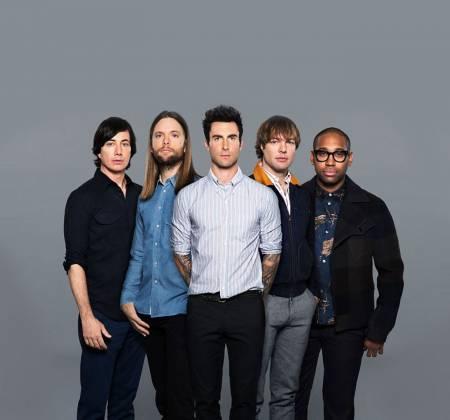 Maroon 5 - Guitarra autografada - Rock in Rio