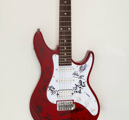 Muse - Guitarra autografada - Rock in Rio