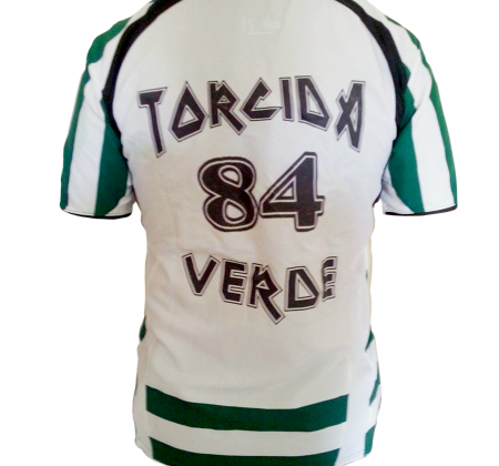 Autographed shirt by the Sporting football team (2014/2015)