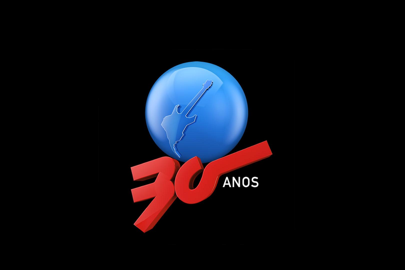 Rock in Rio 30 anos - Guitarra autografada por vários artistas
