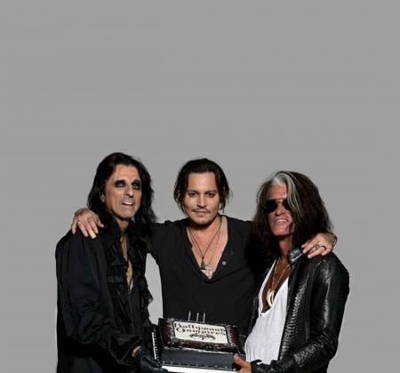 The Hollywood Vampires - Guitarra autografada - Rock in Rio