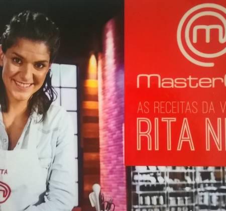 Rita Neto autographed book (MasterChef Portugal Winner)