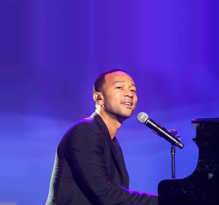 John Legend - Guitarra autografada - Rock in Rio
