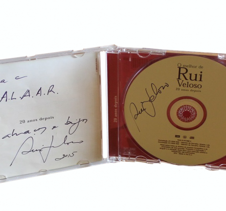Autographed CD by Rui Veloso