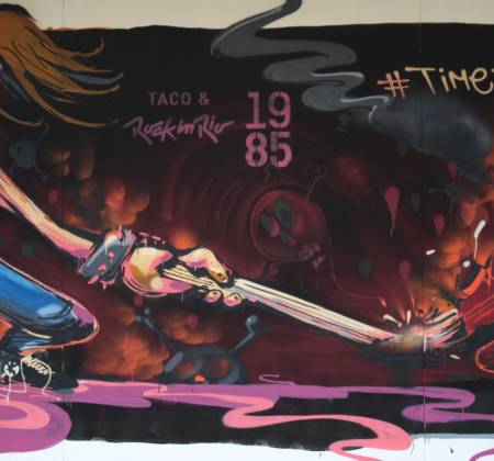 Painting by Thiago Tarm - Rock in Rio