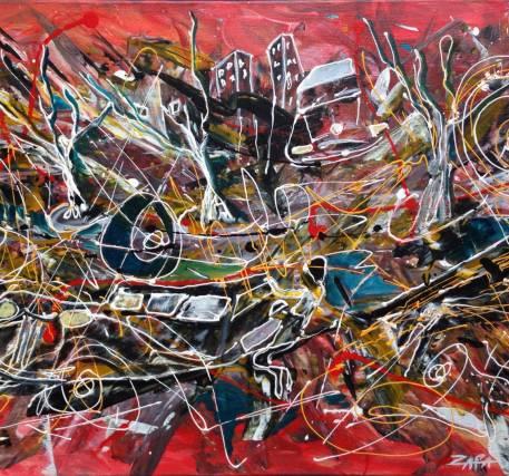 Pintura - Vitor Zapa - (sem título 1)
