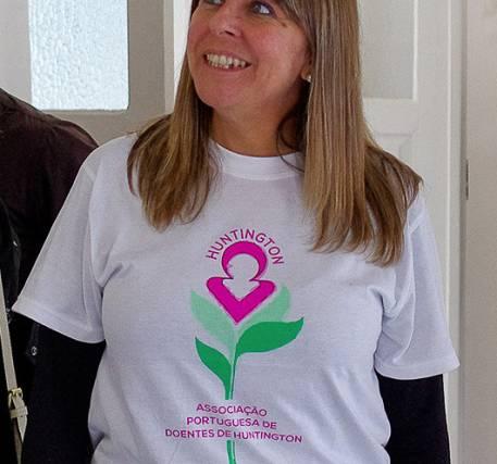T- Shirt da Associação Portuguesa de Doentes de Huntington