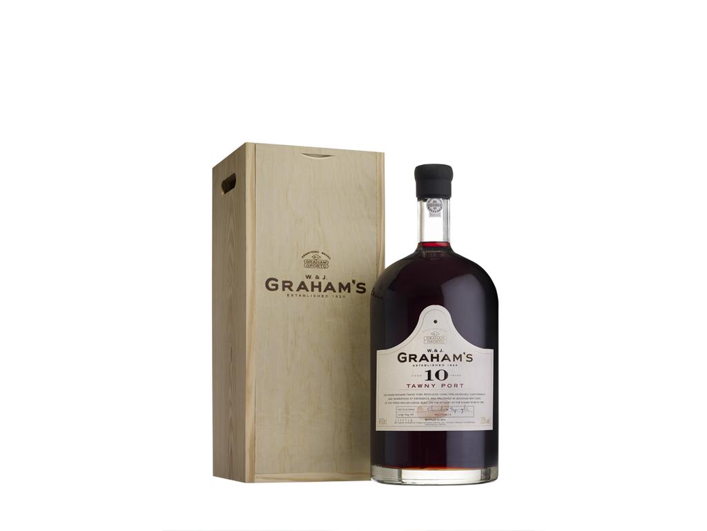 Garrafa de Vinho do Porto Jeroboam Graham's 10 anos