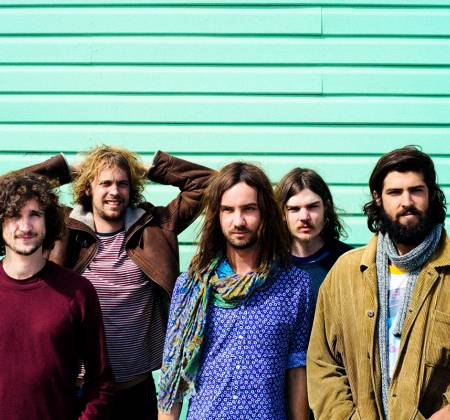 Painting by Tame Impala - Festival Vodafone Paredes de Coura (Music Festival)