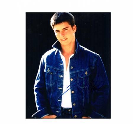 Fotografia autografada por Tom Cruise