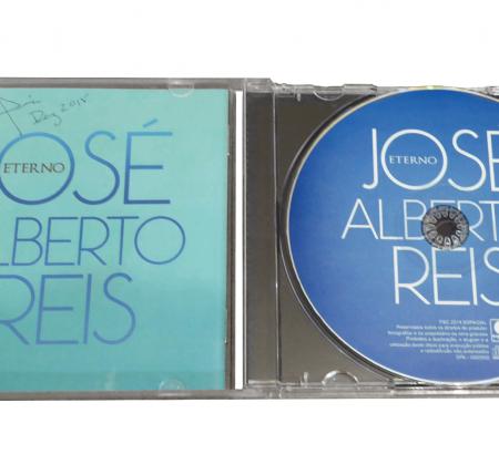 CD autografado pelo José Alberto Reis