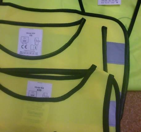 Coletes Refletores - APSI - KIT Família Segura (2 criança e 2 adulto)