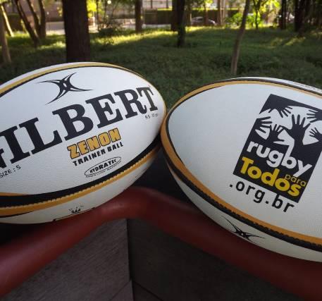 Bola Gilbert Zenon Trainer Tamanho 5 - Rugby Para Todos