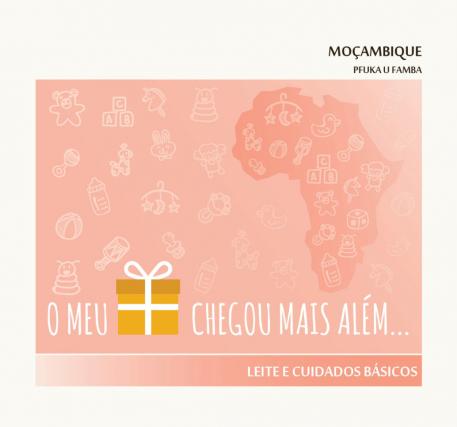 Presente com Futuro - Leite e Cuidados Básicos - Moçambique