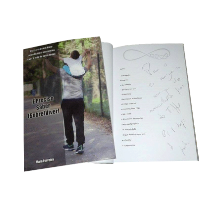 Livros autografados por Júlia Pinheiro e João Paulo Rodrigues apoiam o Pipinho