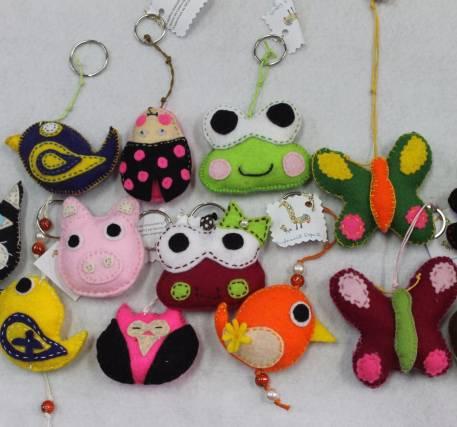 Porta-chaves Animais