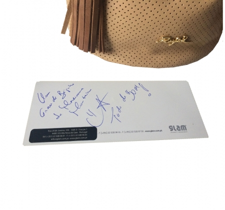 Authentic Rufel Bag designed by actress Mariana Monteiro