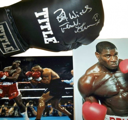 Frank Bruno's Signed Boxing Glove
