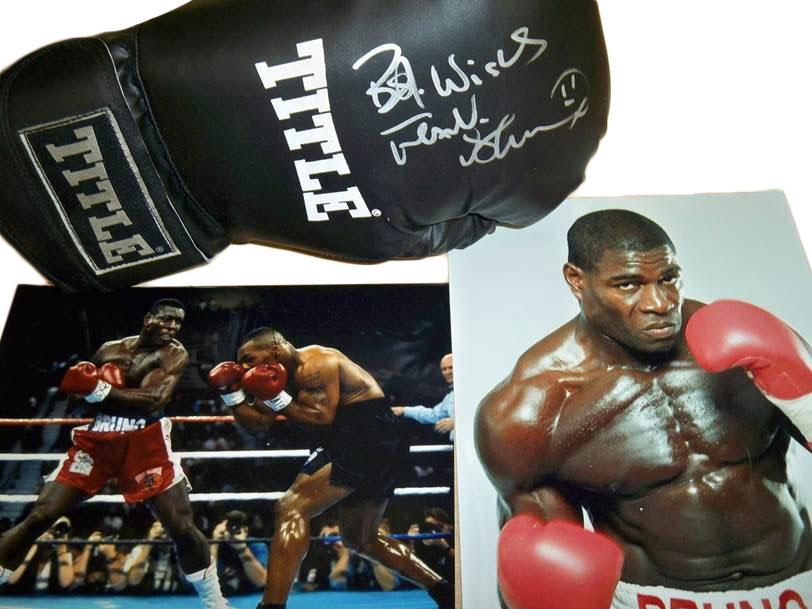 Frank Bruno's Signed Boxing Glove