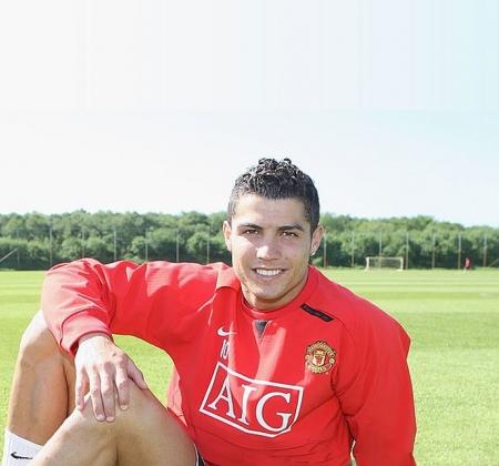 Camisola autografada pelo Cristiano Ronaldo | Manchester United