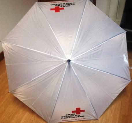 Guarda-chuva Cruz Vermelha Portuguesa