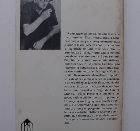 Crónica familiar - Vasco Pratolini