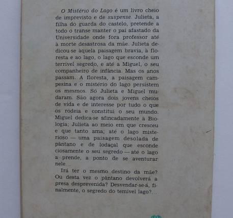 O Mistério do Lago - André Massepain