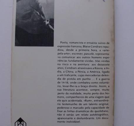 Rum - Blaise Cendrars