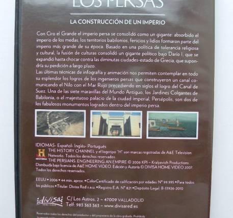 DVD Los Persas