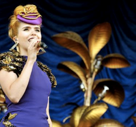 Paloma Faith | 2 palmeiras douradas da Tour Fall To Grace