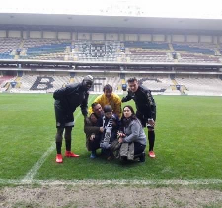 Camisola autografada pelo plantel do Boavista Futebol Clube (2015/2016)