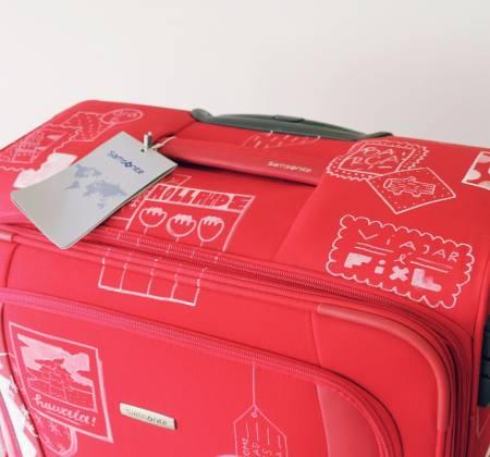 Samsonite suitcase by CHEI [Spinner 80cm]