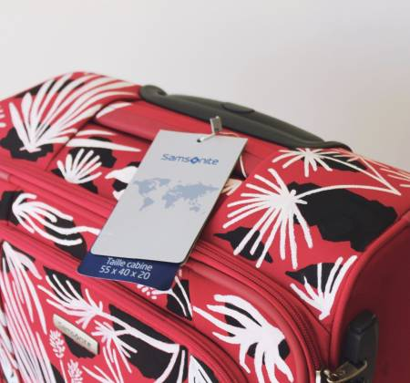 Samsonite suitcase by Laro Lagosta [Spinner 55cm]