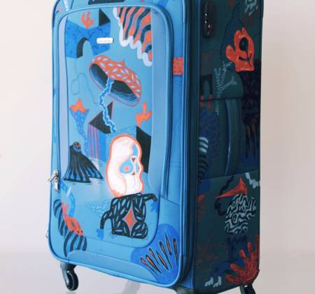 Samsonite suitcase by Andy Calabozo [Spinner 80cm]