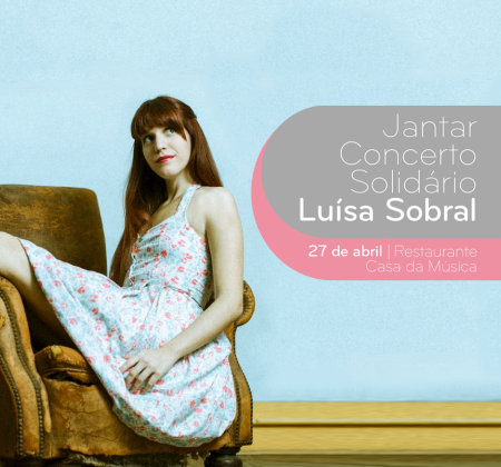 CD autografado por Luísa Sobral + 1 bilhete para o Jantar Concerto Solidário