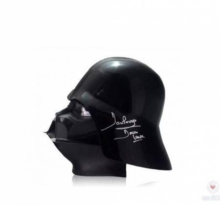 Star Wars - Capacete Darth Vader autografado - Dave Prowse