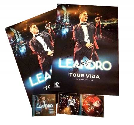 Autographed CD + DVD by Leandro