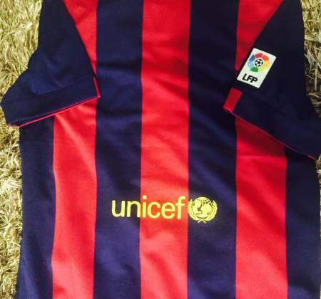 Camisola do Barcelona FC 2014/2015 autografada pelo Lionel Messi